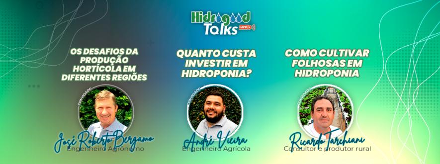 capa hidrogoos talks 3 edição